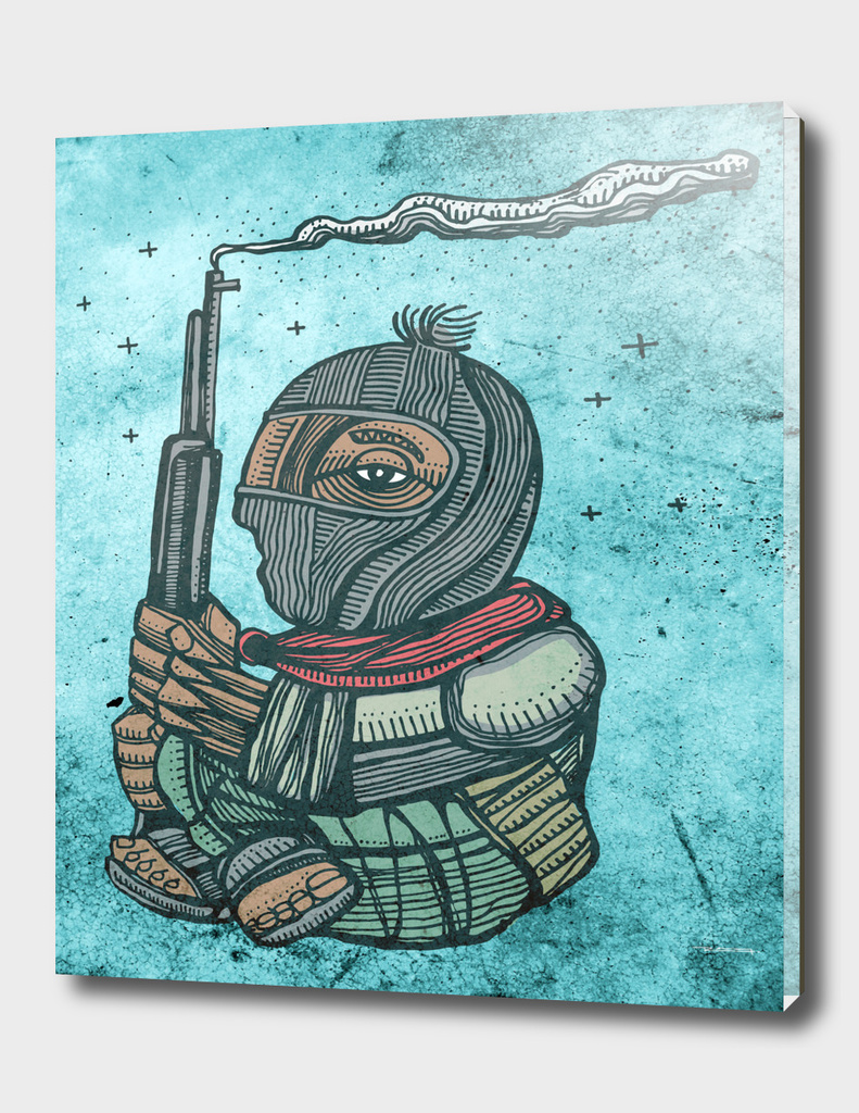Zapatist mexican soldier