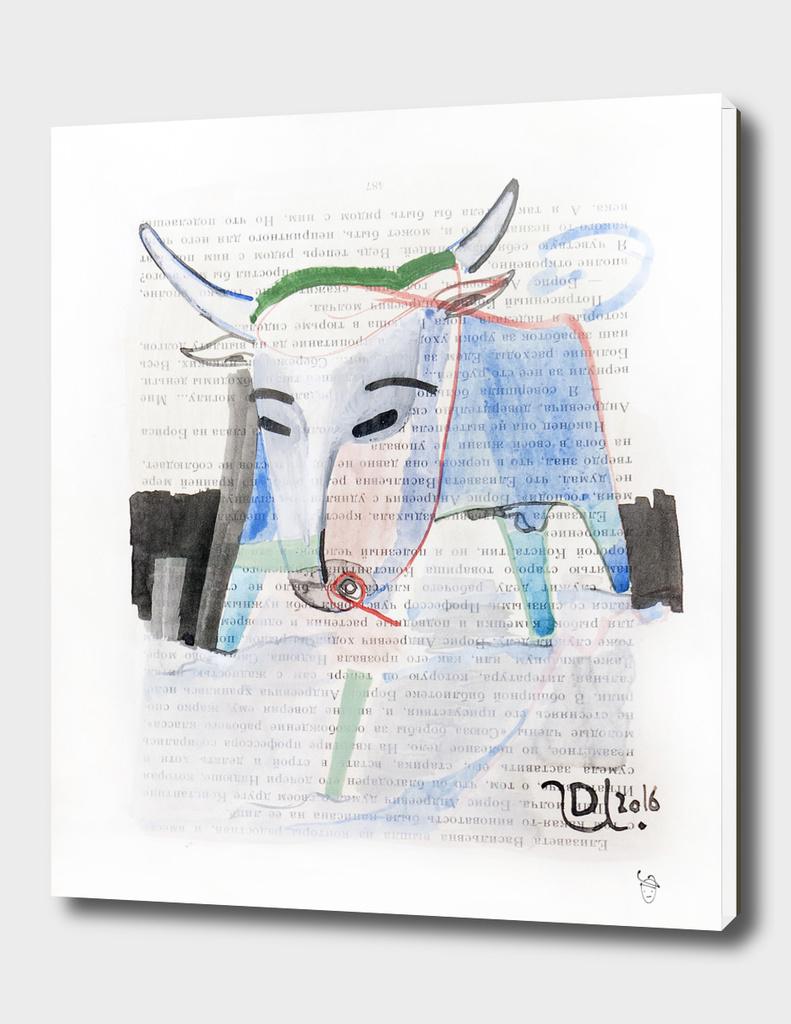 Blue bison
