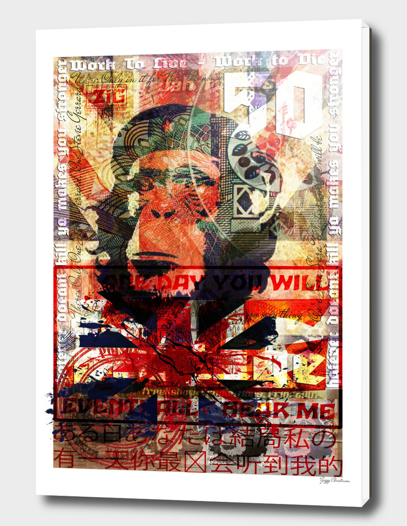 Zig Stamped Chimp (Blue Blood Edition)