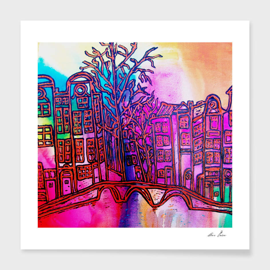 Amsterdam in colours