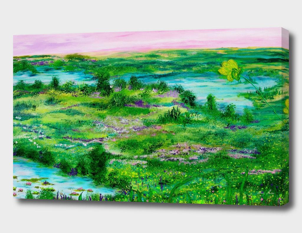 Garden of eternal spring.