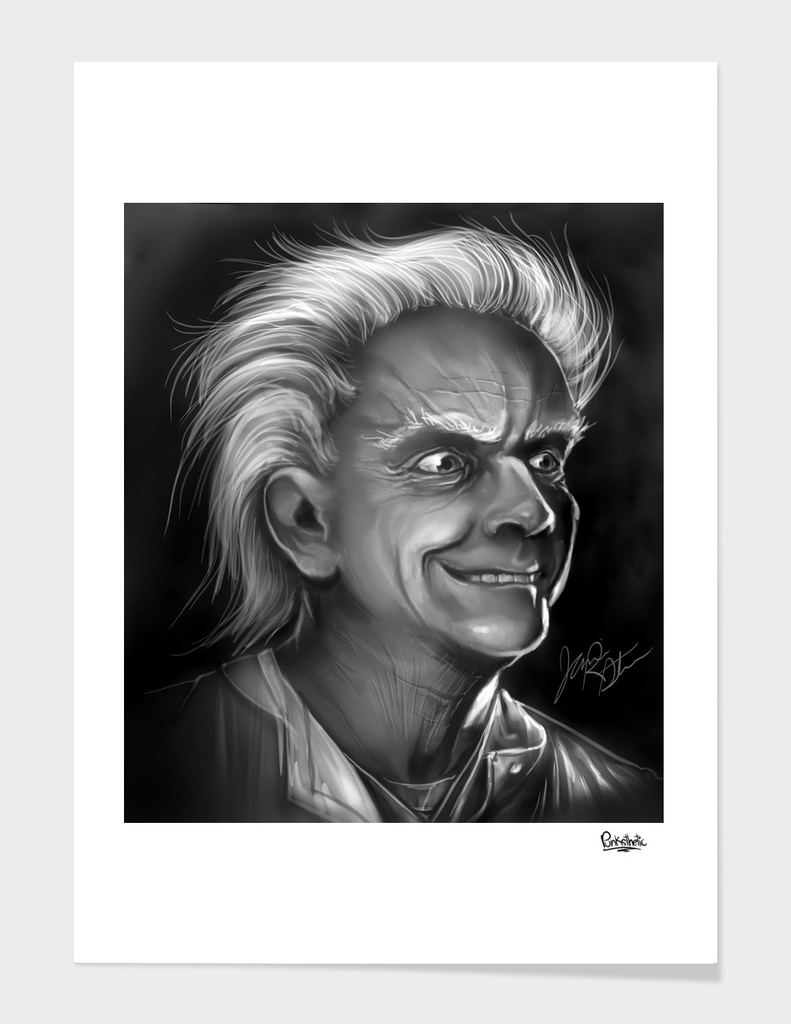 Doc Brown Portrait