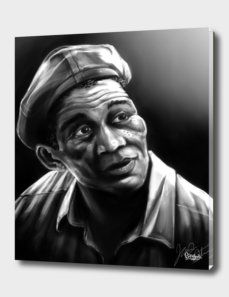 """Ellis Boyd """"Red"""" Redding Portrait"""