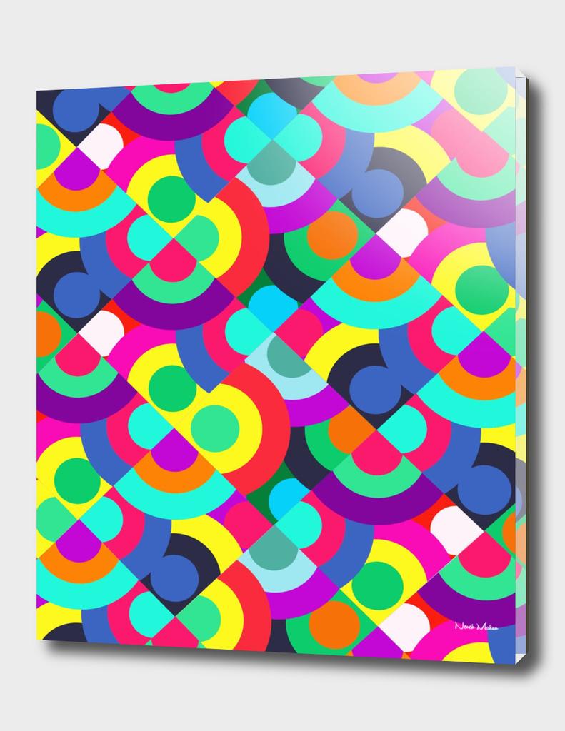 Geometric Colour Pop