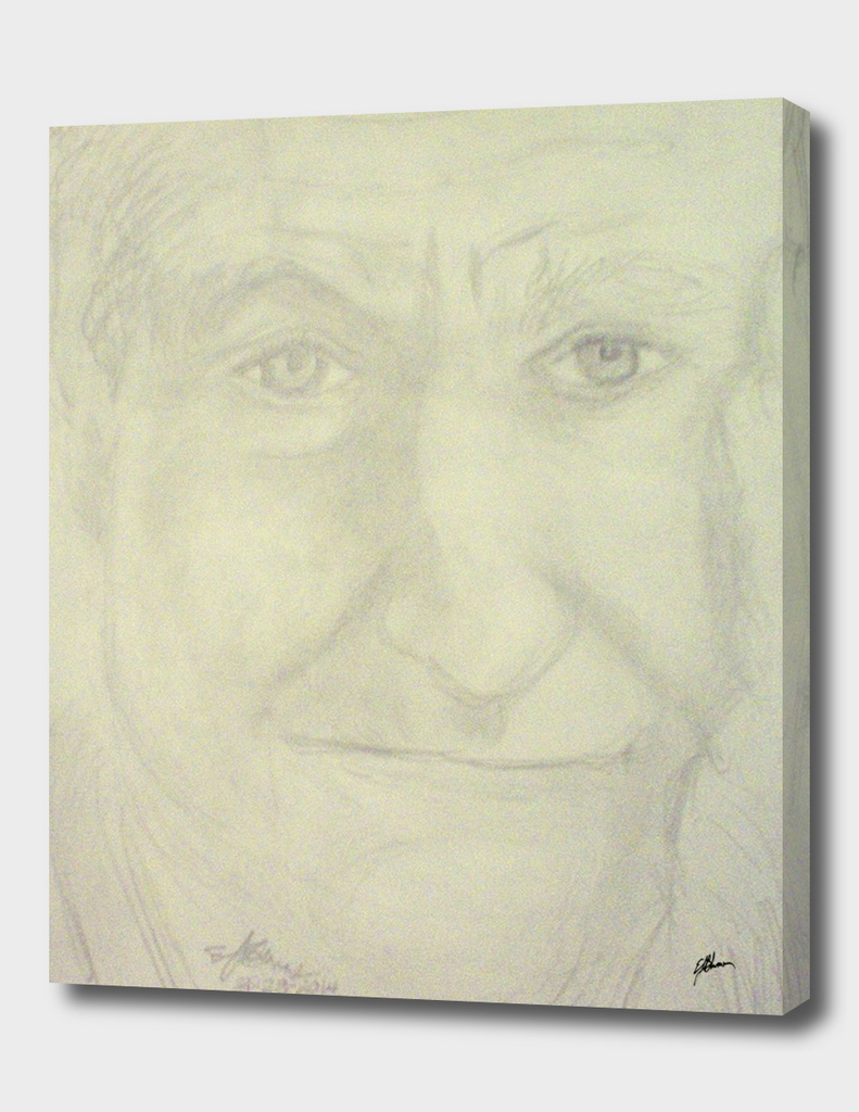 Self portrait of Robin Williams