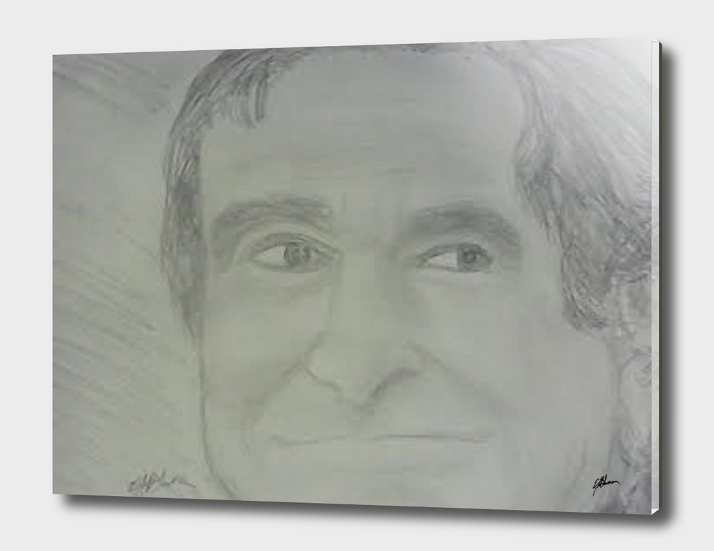 Sketch of Robin Williams