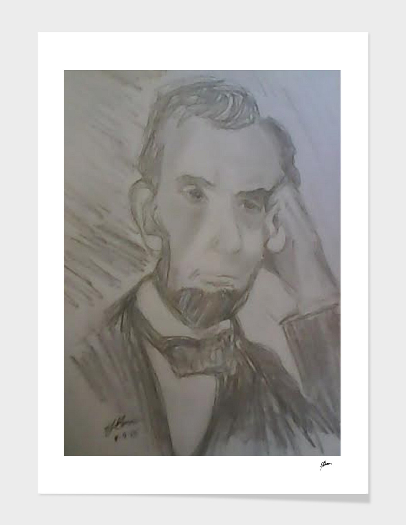 Sketch of Lincoln