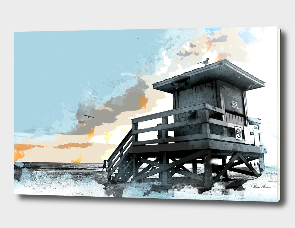 Beach Shack Lifeguard Station