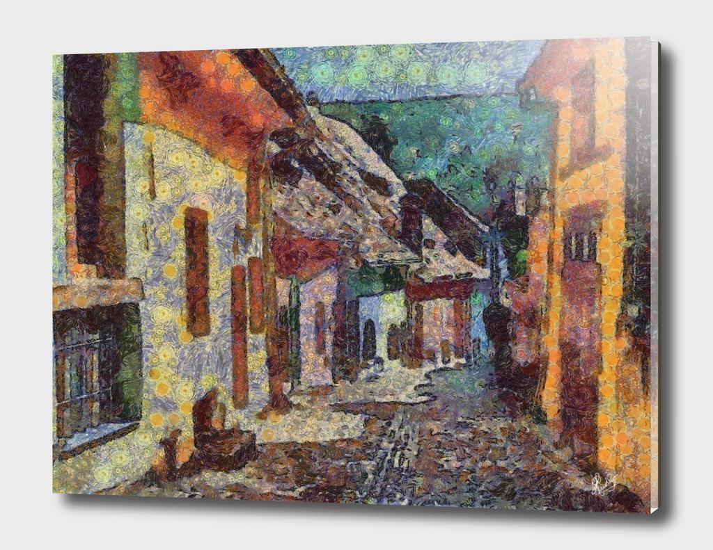 VAN GOGH-CALIA - VILLAGE STREET