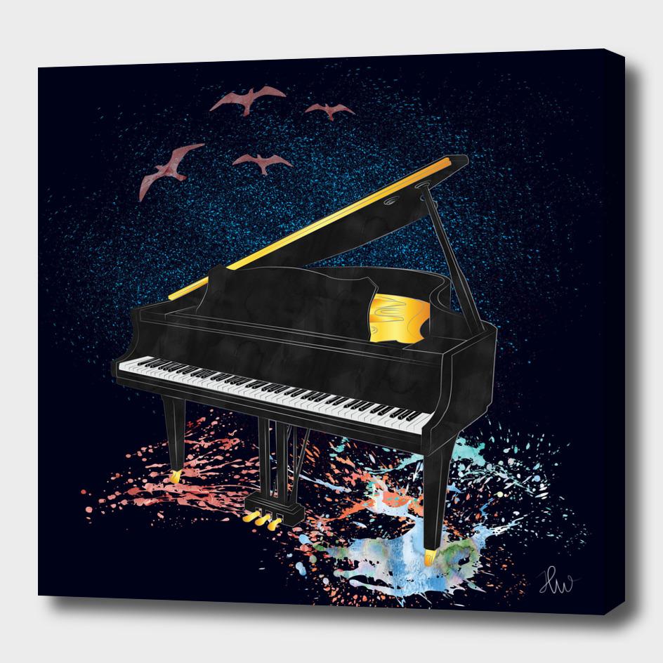 sound of piano