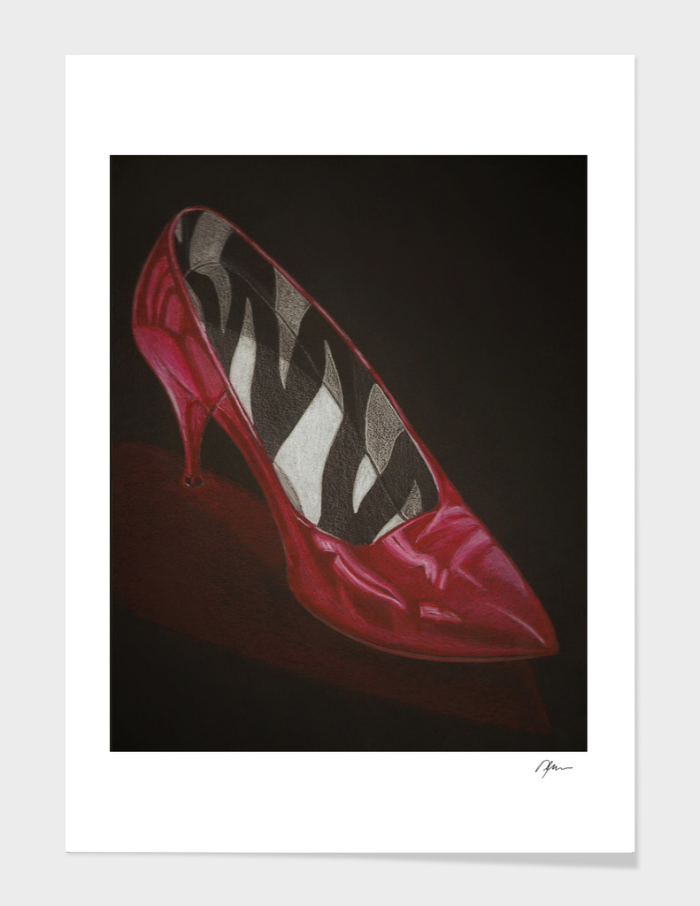 neovibe.us Zebra Red Shoe