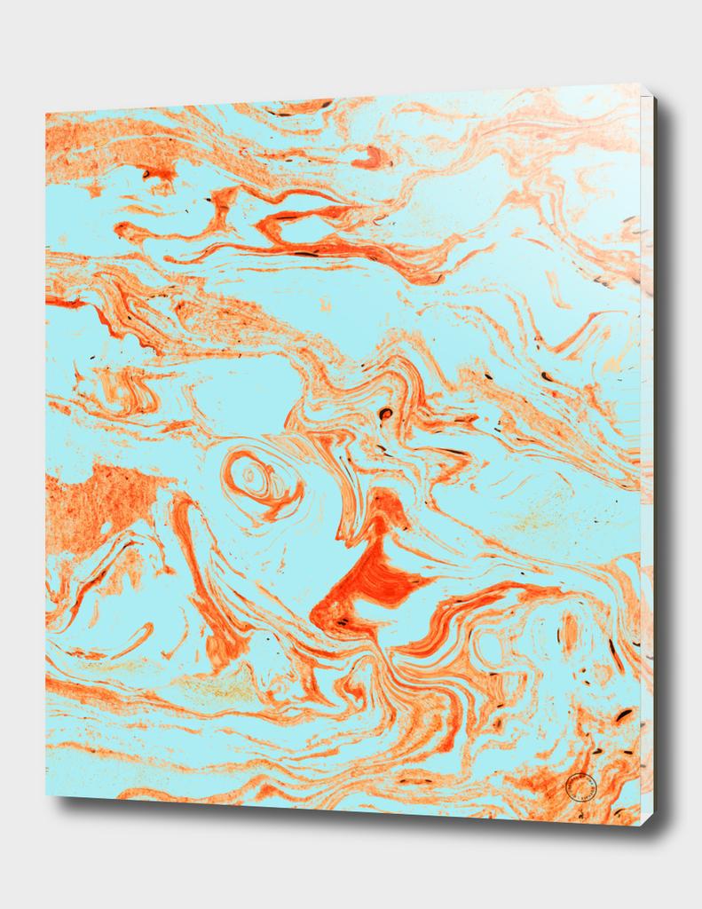 Flamingo + Sea Marble