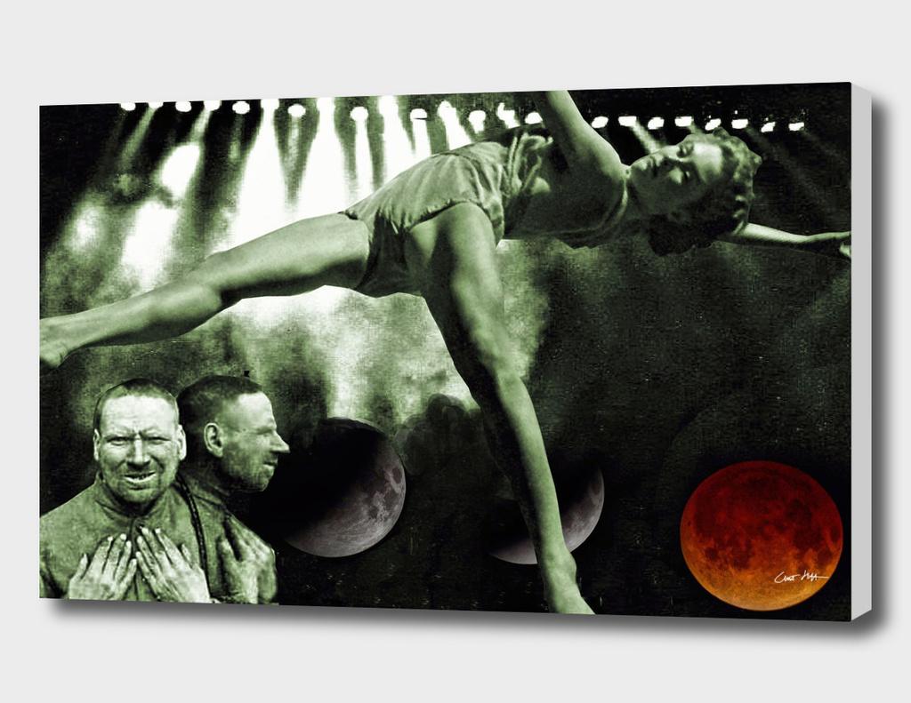 blood moon postcard