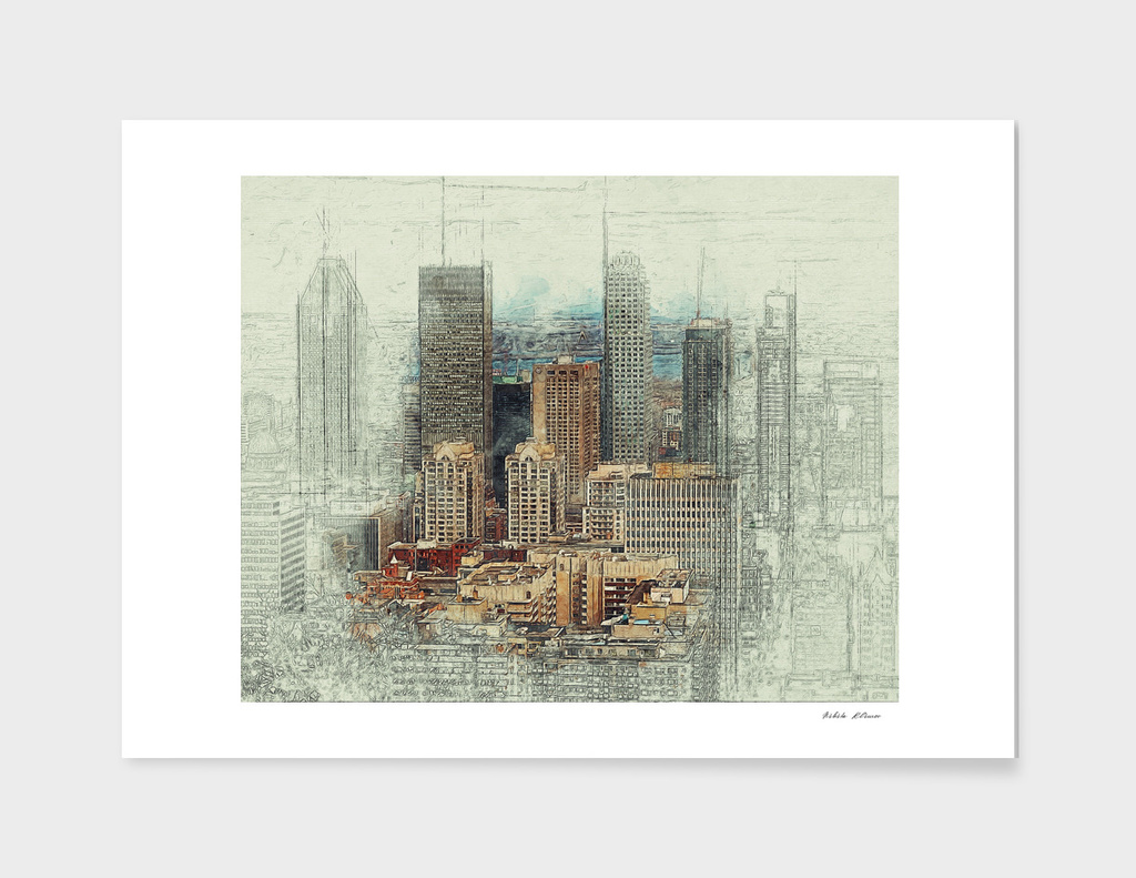 Cityscape Sketch