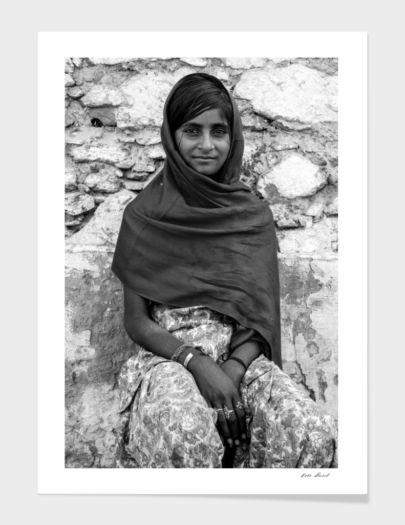 Indian girl from Pushkar