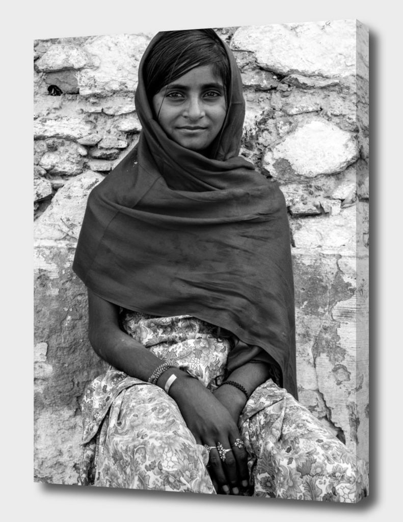 Indian girl from Pushkar