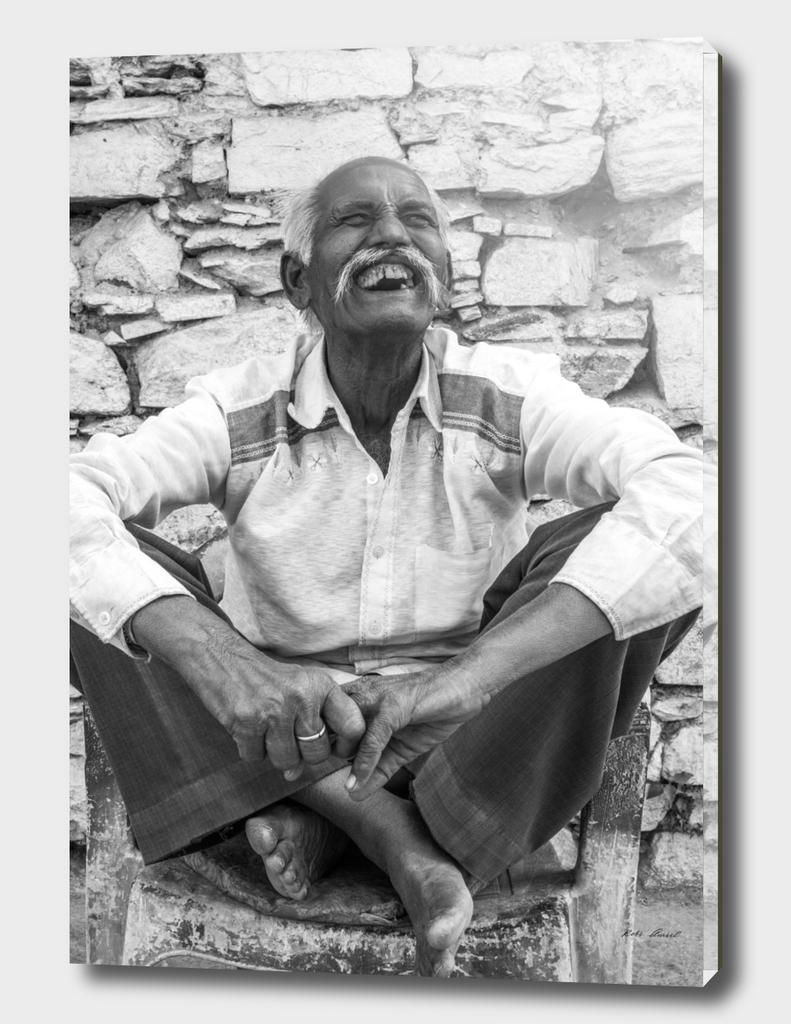 old man from pushkar,india