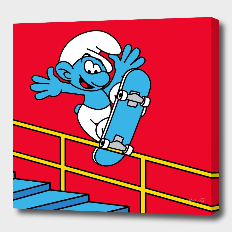 Grindy Smurf