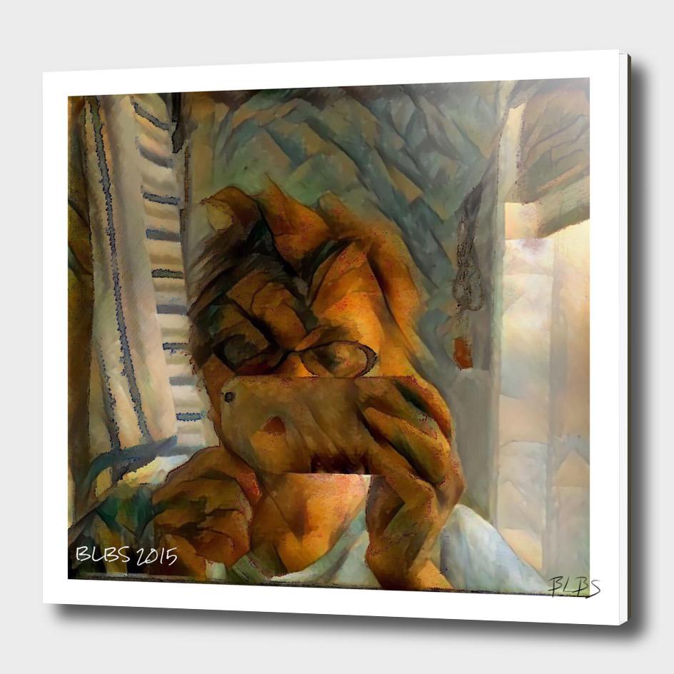 Cubist Self-Portrait