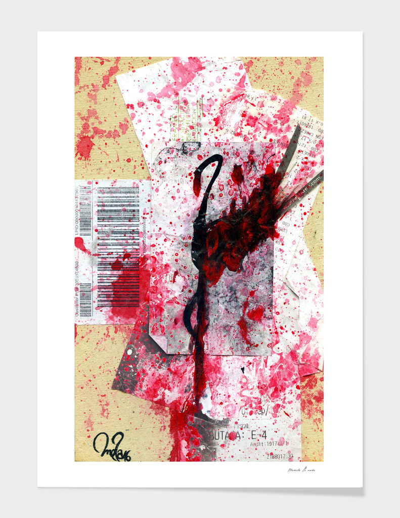 Flamingo | Paintings on Bills 101