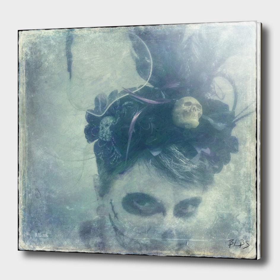 Zombie Bride - Hallowe'en Self-Portrait