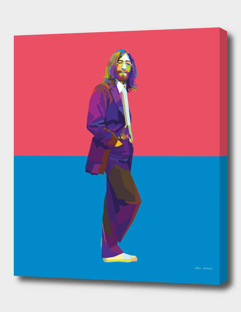 "WPAP - John Lennon "" The Beatles '"