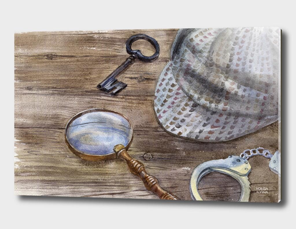 """Still life """"Sherlock Holmes"""""""
