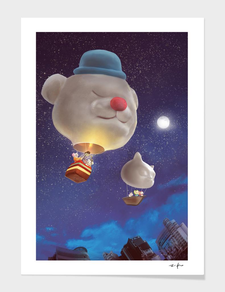 SmileDog Balloon