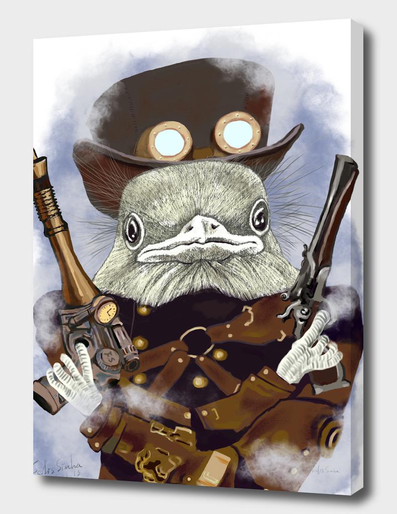 Wild West Bird Ranger with Mushroom Hat