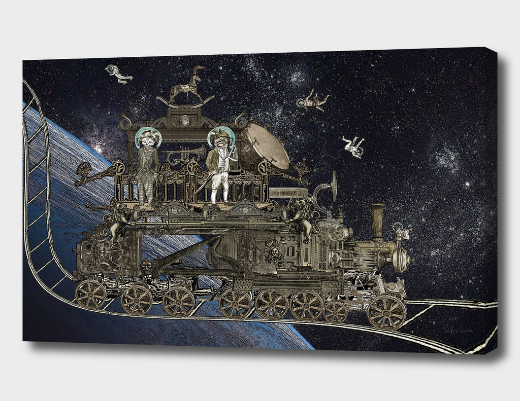Oriental Steampunk Space Expess