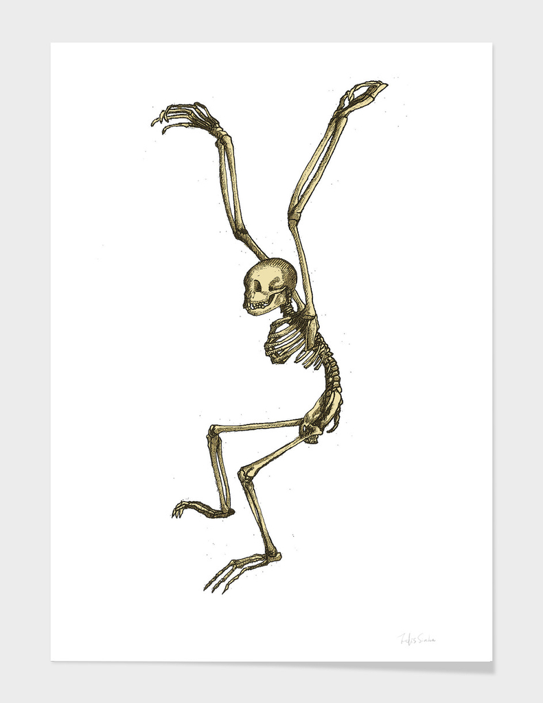 Skeleton Ape