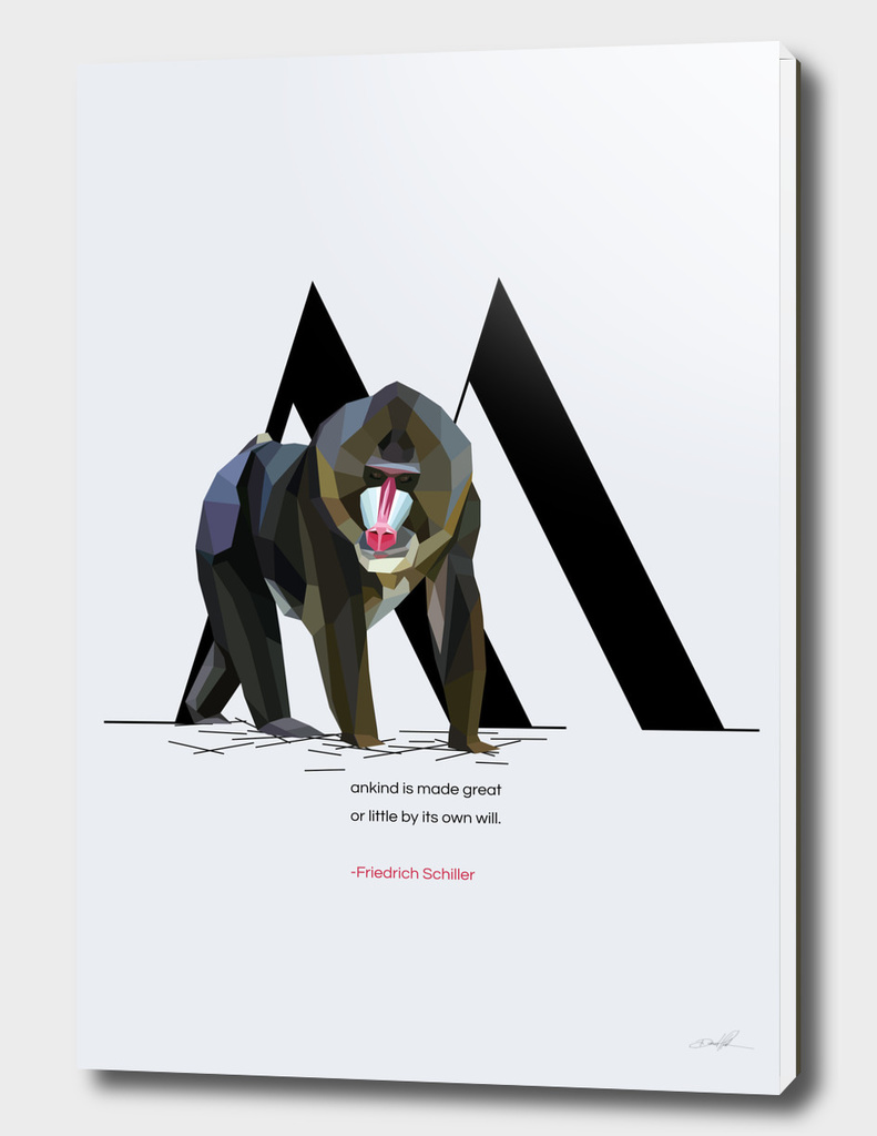 M for Mandrill