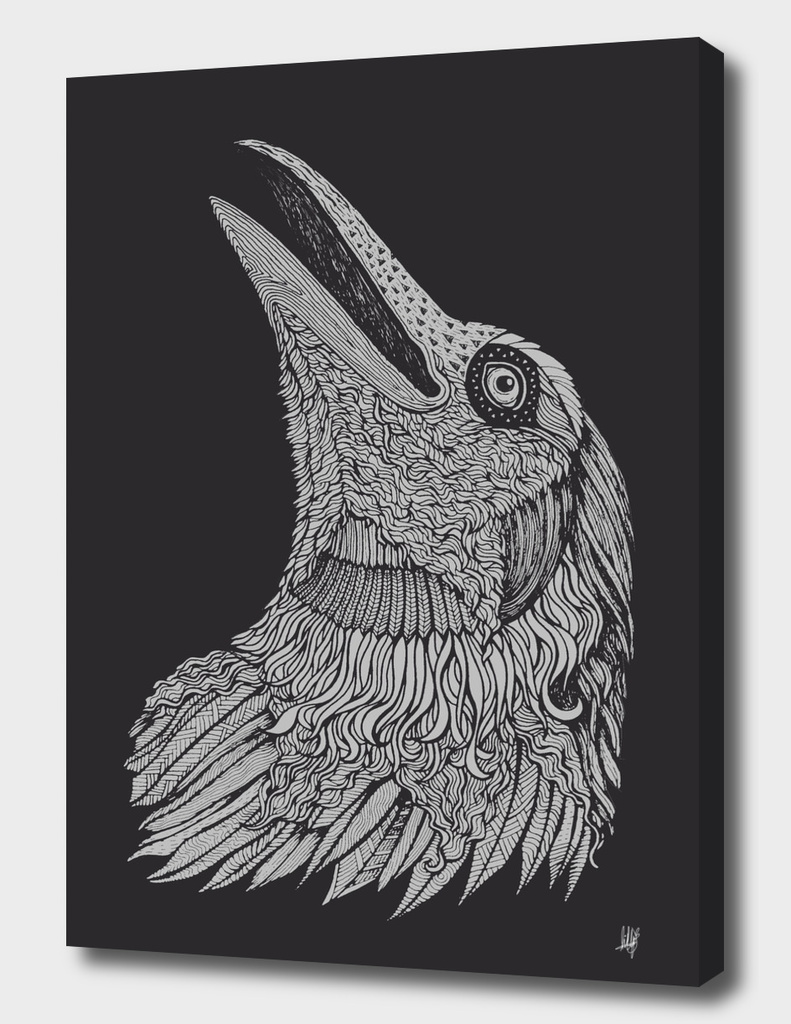 Crow-Charcoal