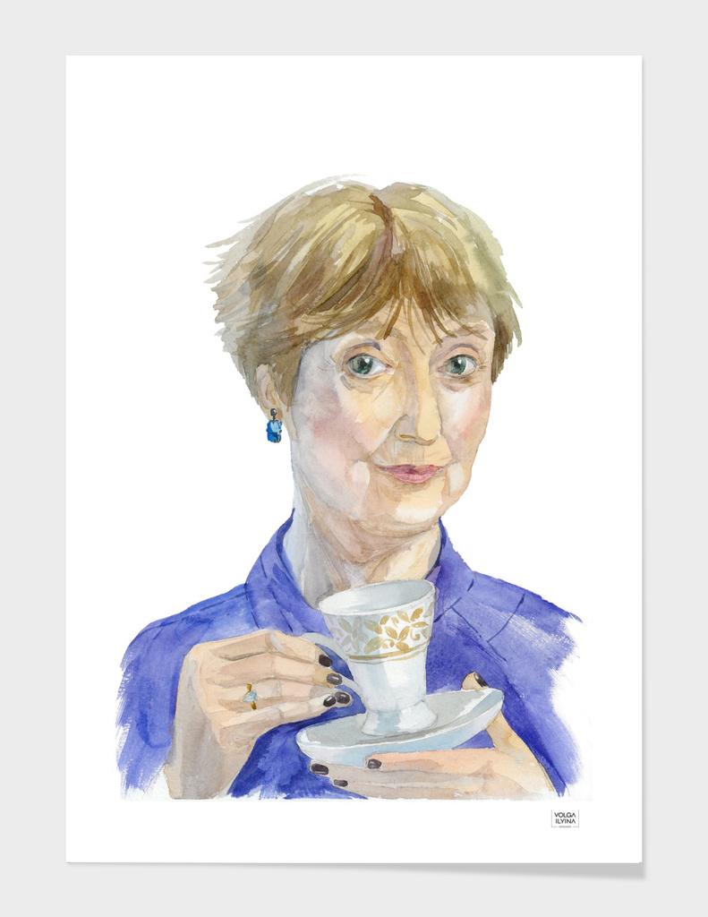 Portrait Mrs. Hudson