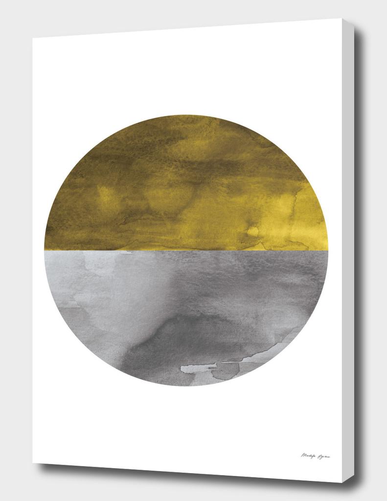 Minimal Watercolor Circle
