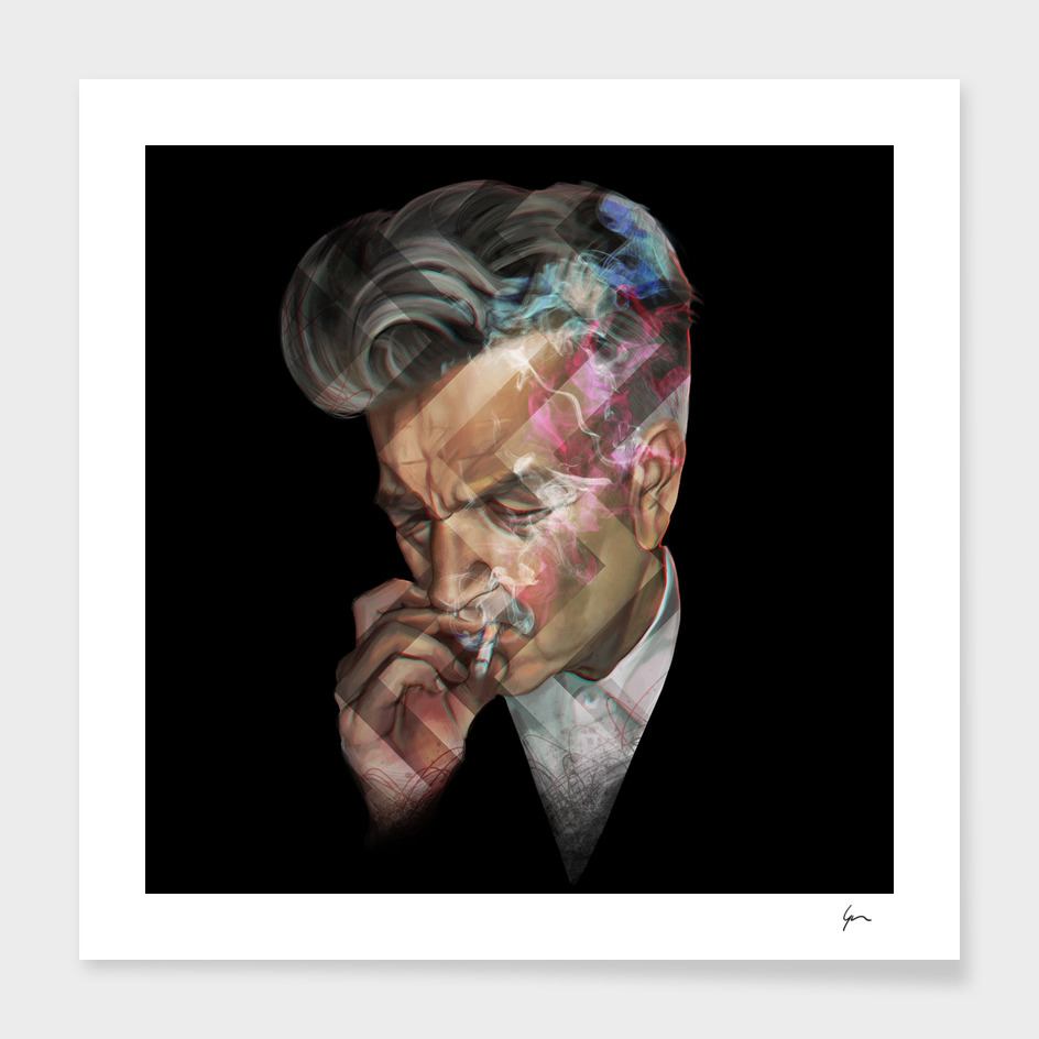 David Lynch portrait