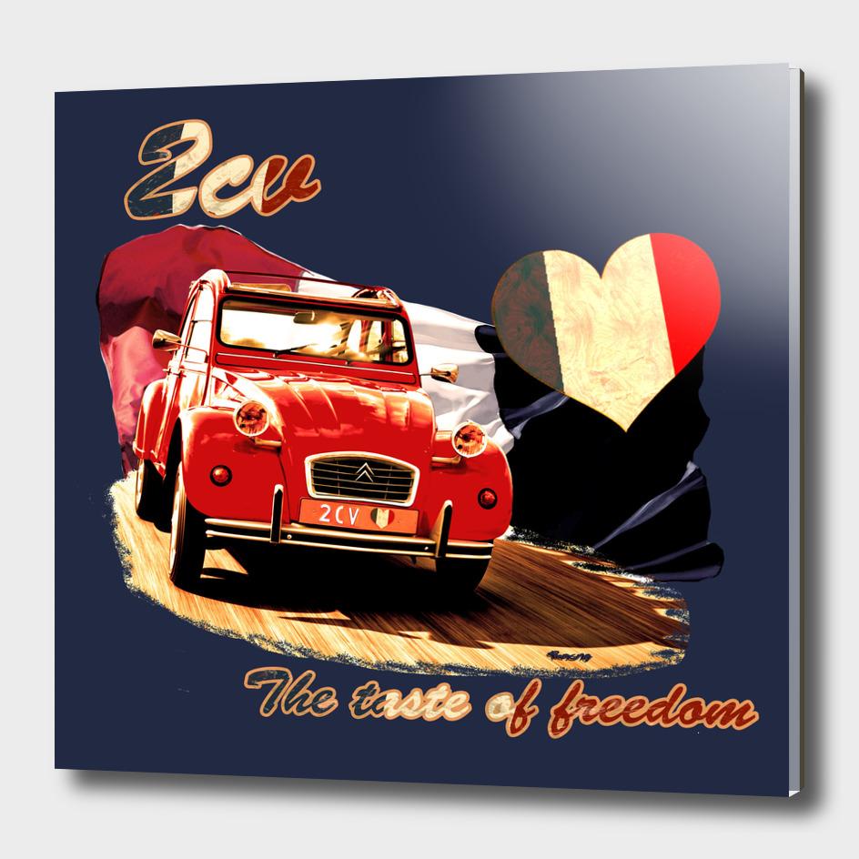 2cv the taste of freedom