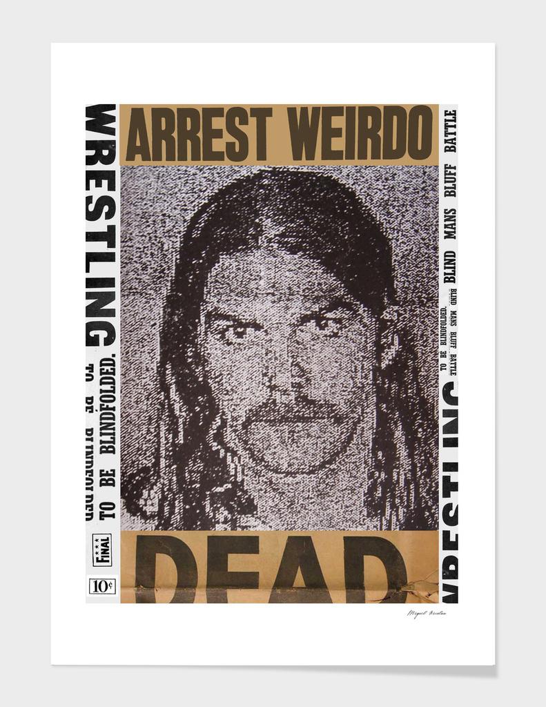 Arrest Weirdo