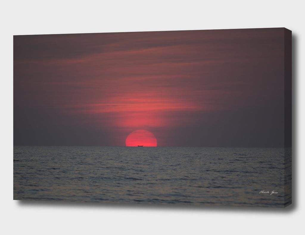 Thai sunset.