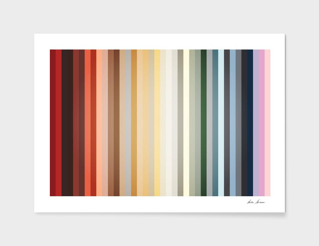 Art Deco Color Palette Of 1940