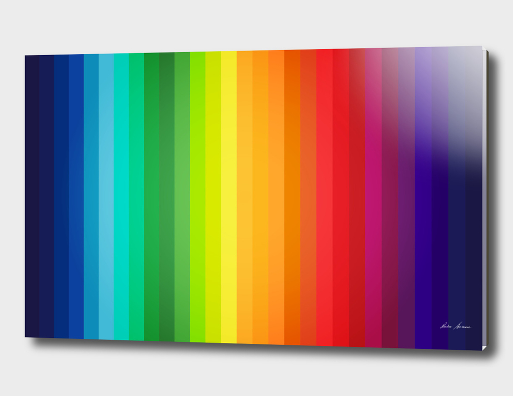 Main Colors Palette Spectrum