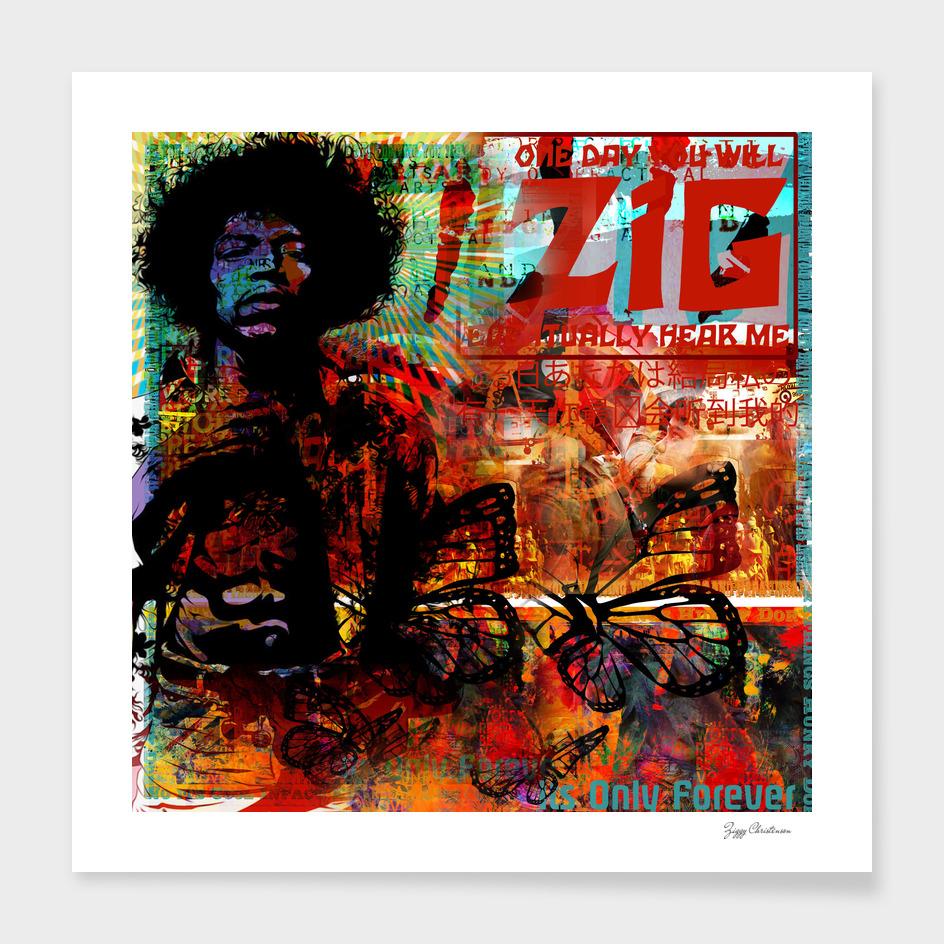 Hendrix Peace Kore (Dakota Flame Edition)