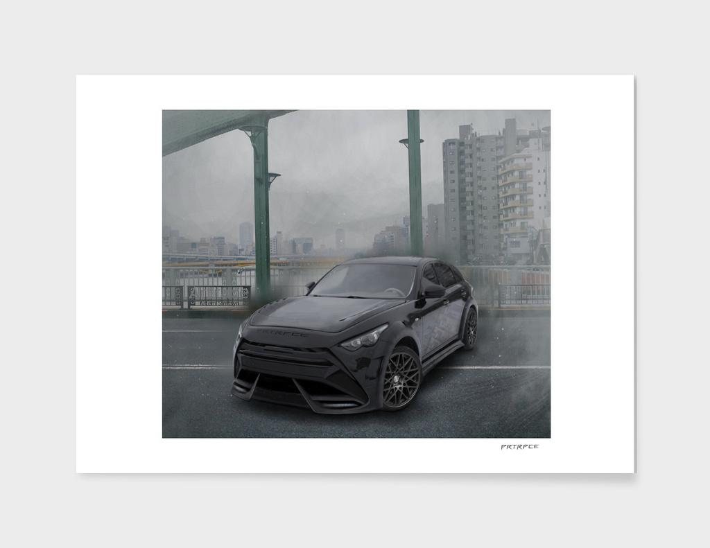"Infiniti QX70 Artrace body-kit ""Tokyo"""