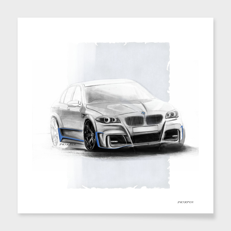 BMW M5 F10 Artrace body-kit