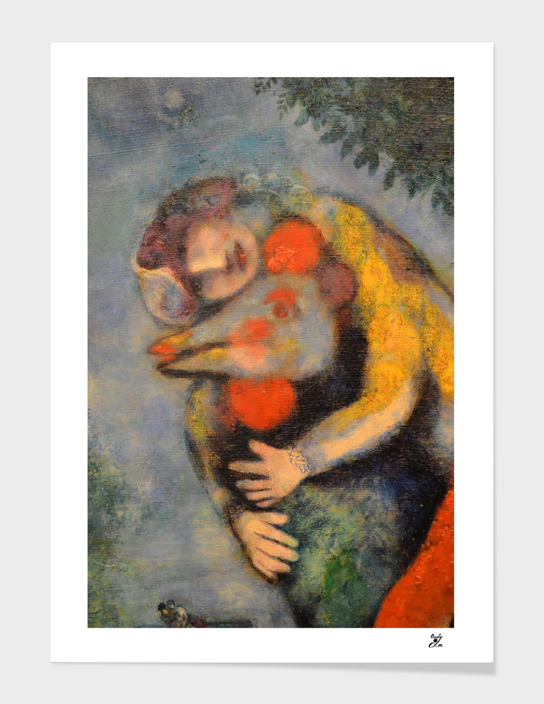About Love. The Cock. Chagall.