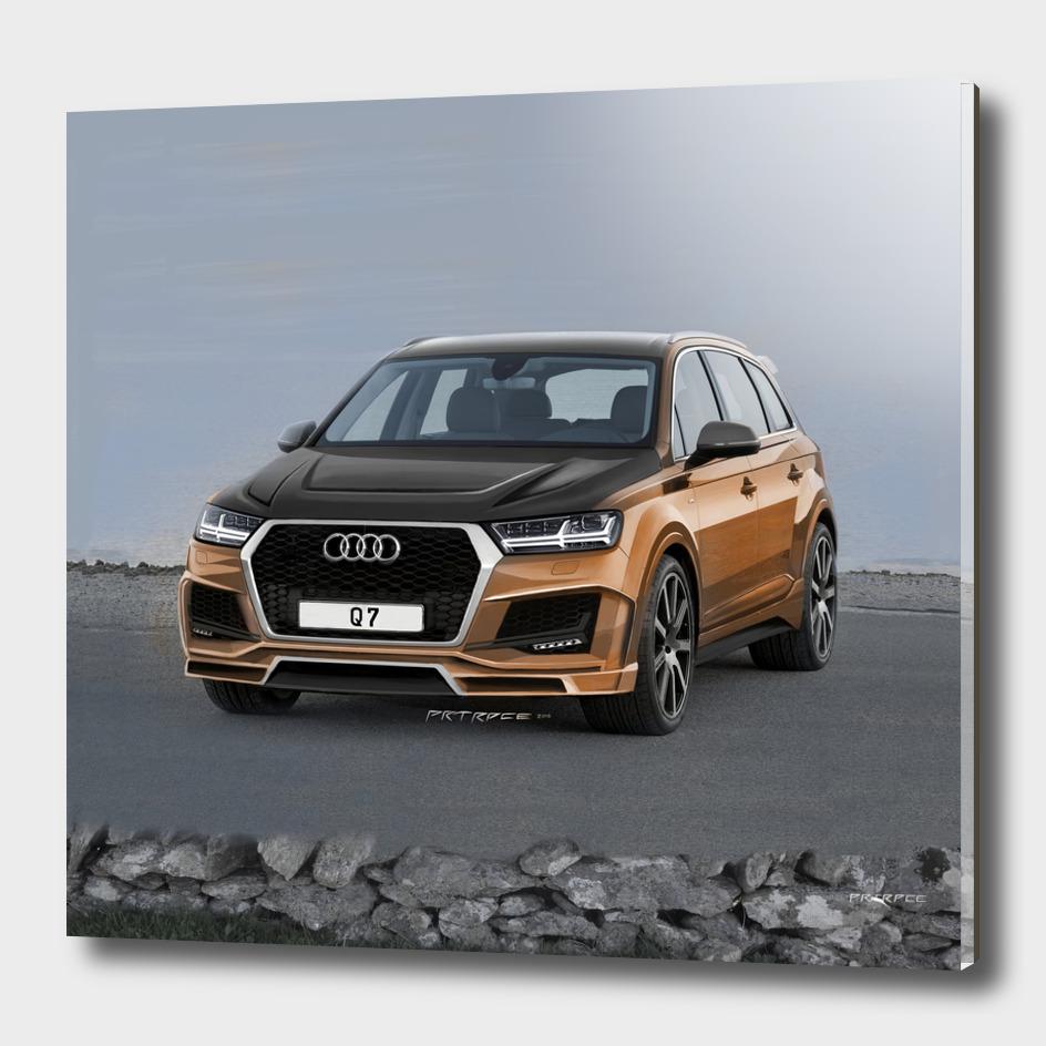 Audi Q7 Artrace body-kit.