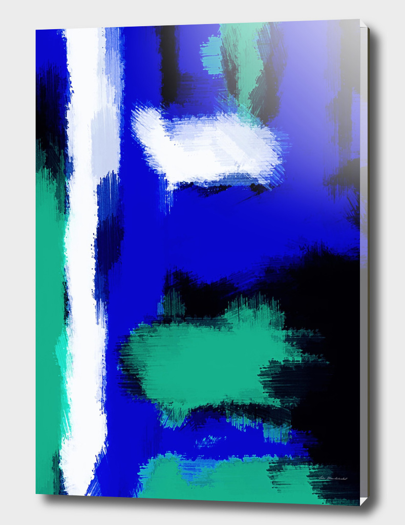 blue green and white watercolor painting texture