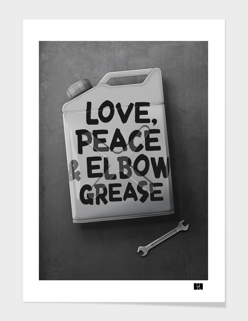 Love, Peace & Elbow Grease