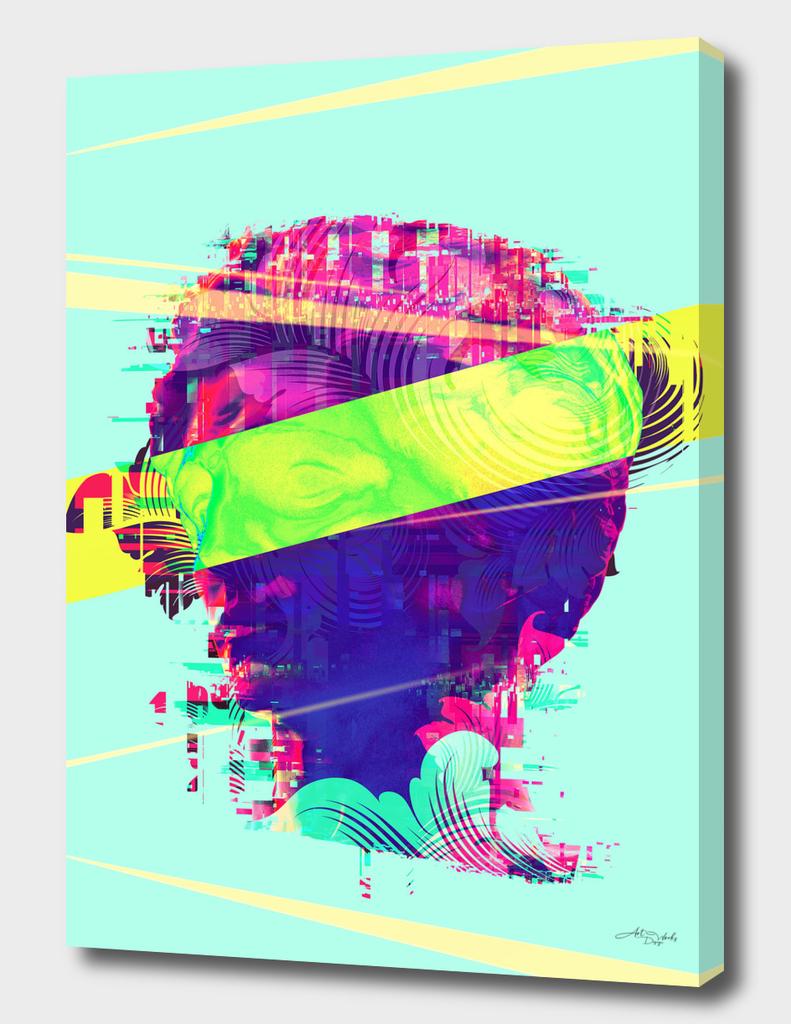 Artistic LXXI - Glitchy Dope Portrait / EE