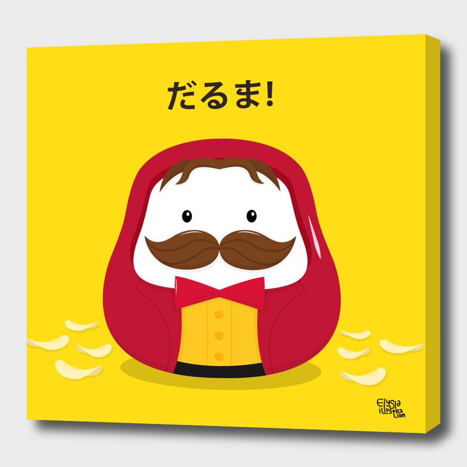 Pringles Daruma